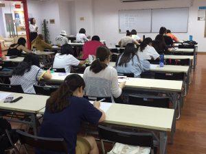 7月3日に中華人民共和国でJBAAのビジネス能力認定試験が実施されました
